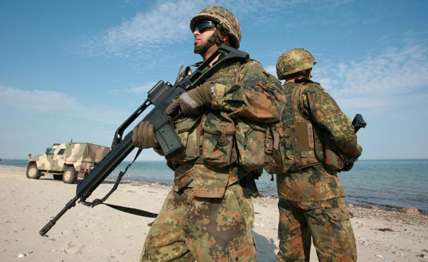 Soldaten des Seebataillon