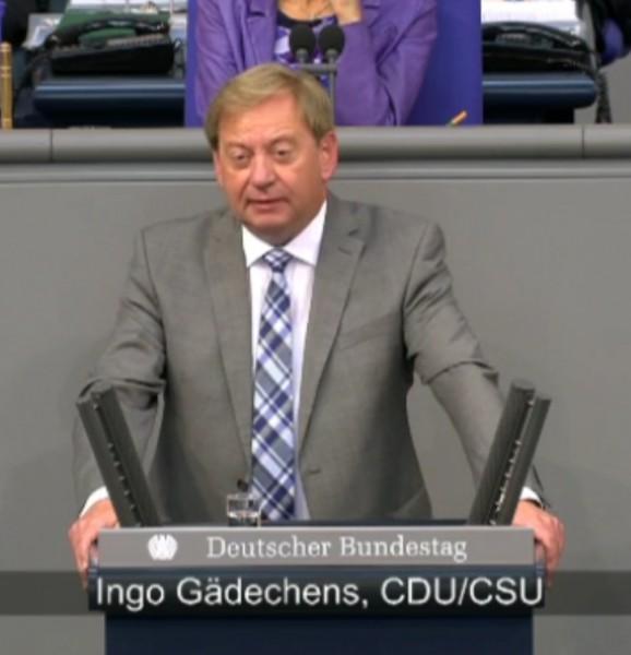 Ingo Gädechens, MdB - Rede zum Verteidigungshaushalt
