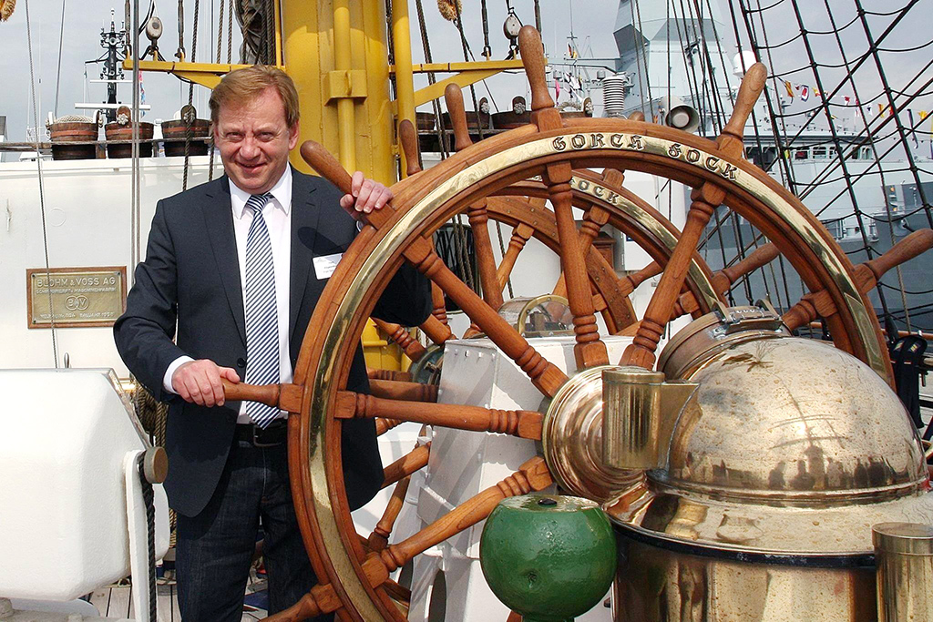 Obmann der CDU/CSU-Bundestagsfraktion und Berichterstatter für die Marine Ingo Gädechens