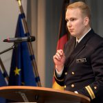Vom 10. Janurar bis 11. Januar fand in Linstow die jährliche Historisch - Taktische Tagung der Marine statt.  Referent Oberleutnant zu See Hauke Gärtner